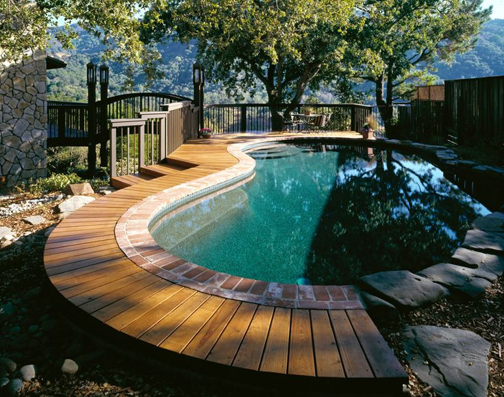68 best Pool images on Pinterest Terraces, Landscaping and Gardening - schwimmingpool fur den garten