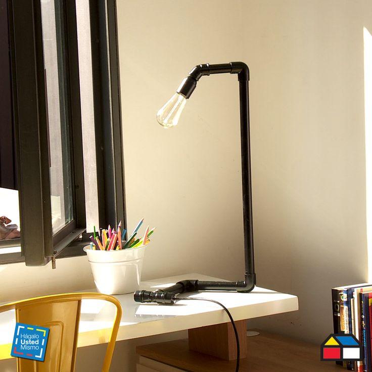 C mo hacer una l mpara con tubos de pvc - Como hacer una lampara ...