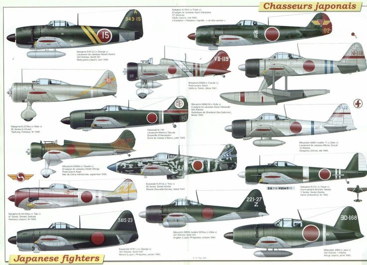 Japanese Fighters Of World War II