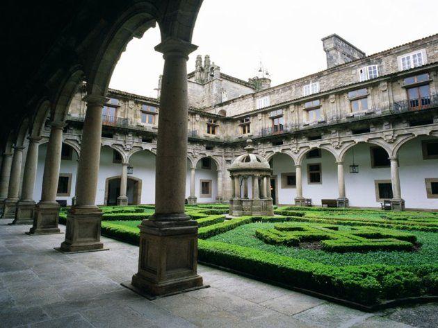 Spain, Galicia, A Coruña, Santiago de Compostela, Hostal de los Reyes Católicos