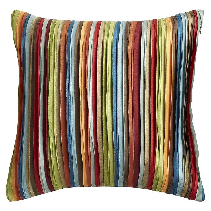 We Wrapped This Pillow In Ribbons To Make It Extra Special Living Room PillowsCouch