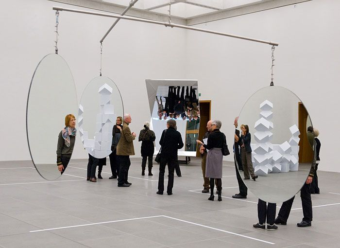 Jeppe Hein – 3-Dimensional Mirror Mobile