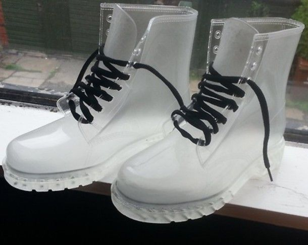 Clear Jelly Doc Martens | xuqnef-l-610x610-shorts-clear-shoes-clear-boots-transparent-dr-martens ...