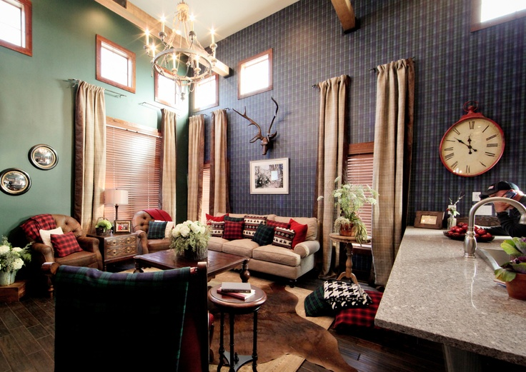 Ivy league style living room on extreme makeover home for Timeless home design