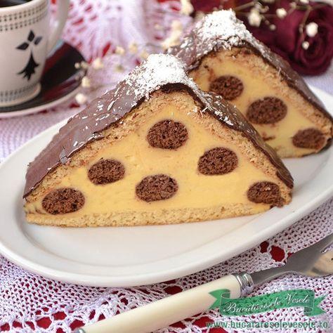 Cea mai buna prajitura de casa.Prajitura Acoperis de Casa,prajitura cu crema.Prajitura Acoperis de Casa, prajitura cu crema,prajitura cu foi.