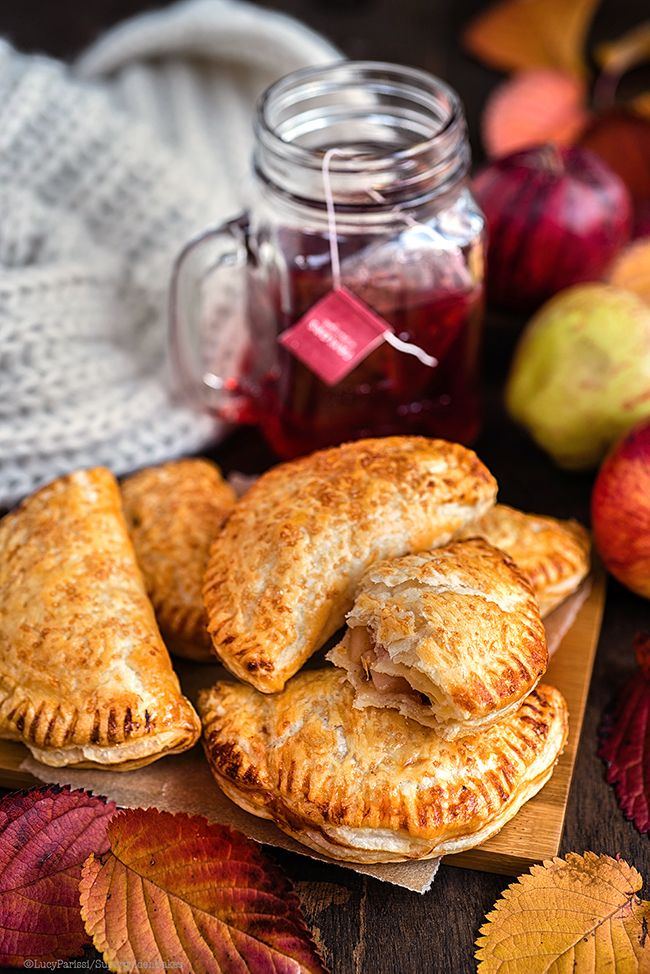 Easy Spiced Apple Turnovers