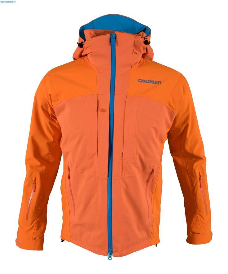 Goldwin Men Radical Jacket - Tiger Orange