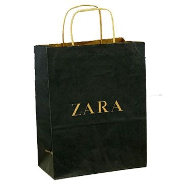 Paper Bagd Kraft Boutique Americana Zara Bag Furniture