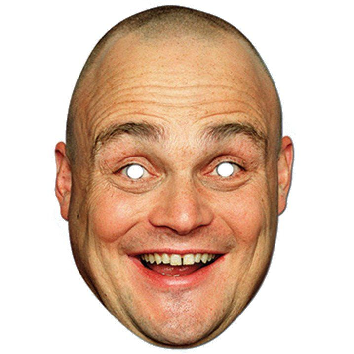 Al Murray Face Mask – Modo Creations