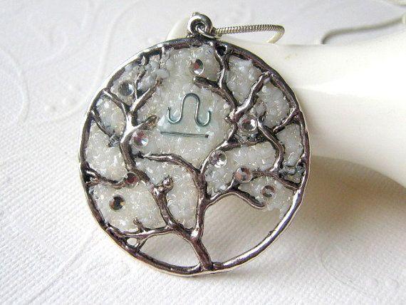 Libra Necklace Libra Constellation Zodiac Jewelry by AimeezArtz, $28.00