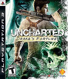 Uncharted: Drake's Fortune  (Sony Playstation 3, 2007) Greatest Hits