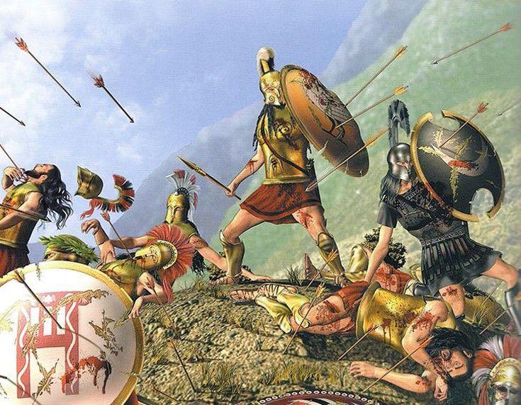информация картинки античных сражений производители