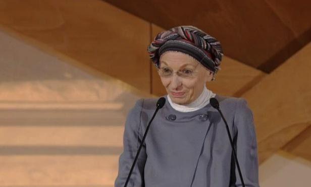 #EmmaBonino: l'alleanza delle donne contro lo spreco alimentare #Italia2015 #raiexpo #expoidee #expo2015 #italia #worldfair #firenze