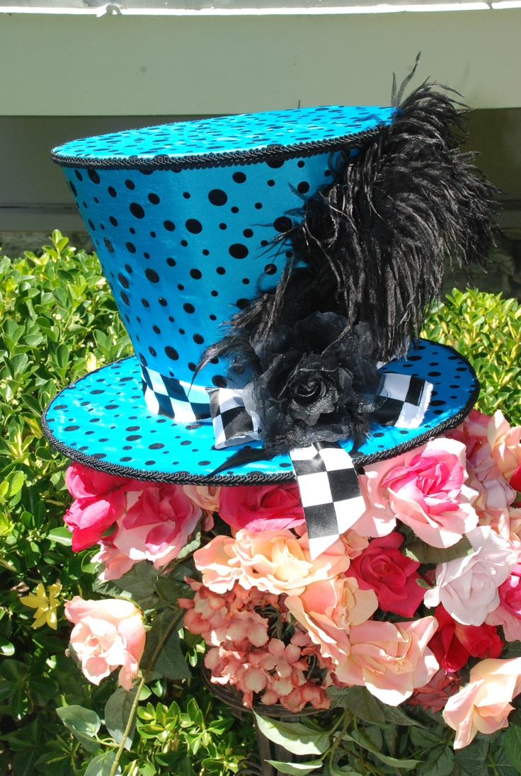 96 best mad hatter hats images on pinterest mad hatter for Mad hatter party props