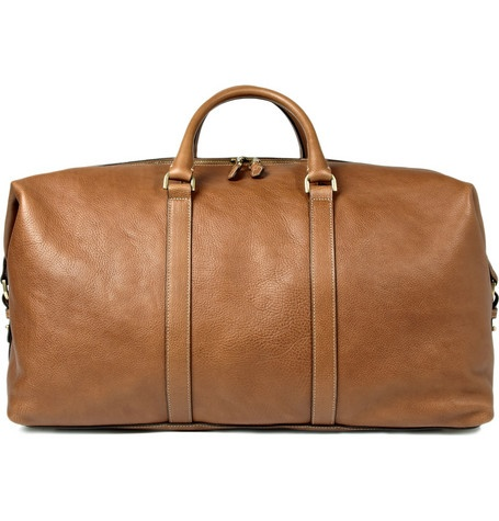 MulberryClipper Leather Holdall (Back)