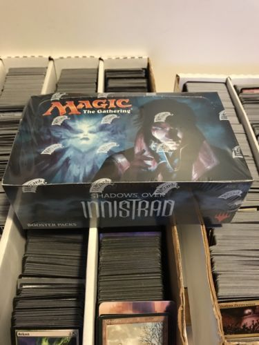 MTG Complete Sets 19114: Sealed Booster Box Shadows Over Innistrad Magic Cards Mtg -> BUY IT NOW ONLY: $89.99 on eBay!
