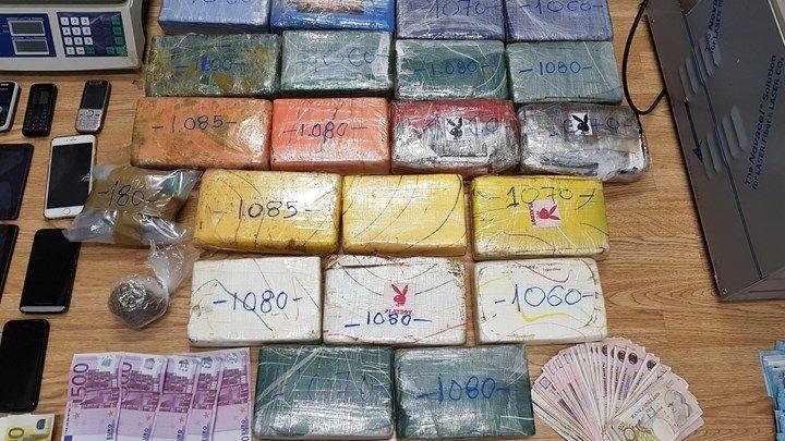 Θα γέμιζαν με κοκαΐνη από τη Λατινική Αμερική τα νότια προάστια και τις Κυκλάδες - ΦΩΤΟ