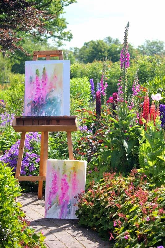 Watercolours With Life: Catching Up! Jean Haines