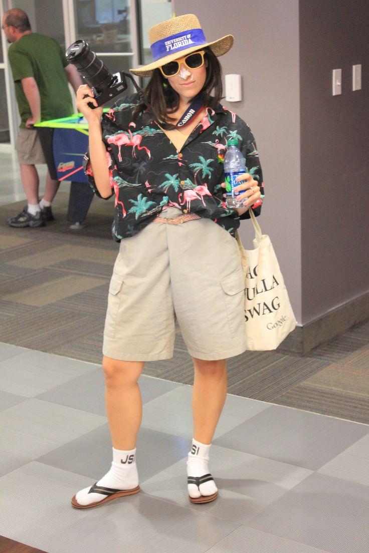 #Clickbooth Tacky Tourist #spiritweek @Jennifer Joan
