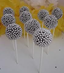 Disco ball cake pops ~ AWESOME! And super easy if you are a dab hand at cake pops.