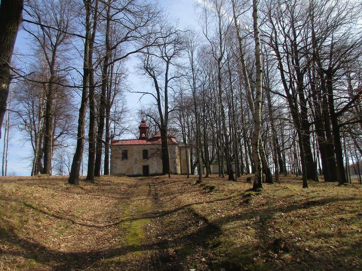 Kaple sv. Anny  - Anenský vrch u Lobendavy - Ústecký kraj