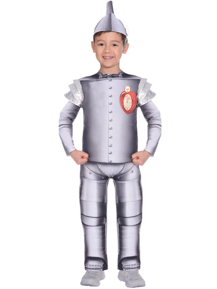 Wizard of Oz Tin Man - Child Costume in 2020 | Fancy dress costumes kids. Tin man costumes. Boy costumes