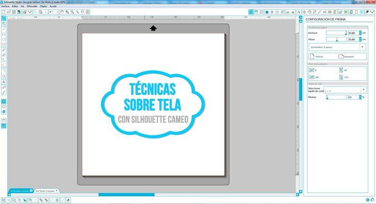Proyectos sobre tela con Silhouette: Vinilo Térmico, Pintura Textil y Pintura en Spray (Español)