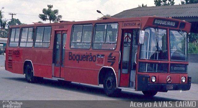 Ônibus da empresa Auto Viação Nossa Sra. do Carmo, carro 6235, carroceria Furcare - Nimbus Haragano Expresso, chassi Mercedes-Benz OH-1517. Foto na cidade de Curitiba-PR por Acervo A.V.N.S. CARMO, publicada em 19/11/2012 20:32:05.