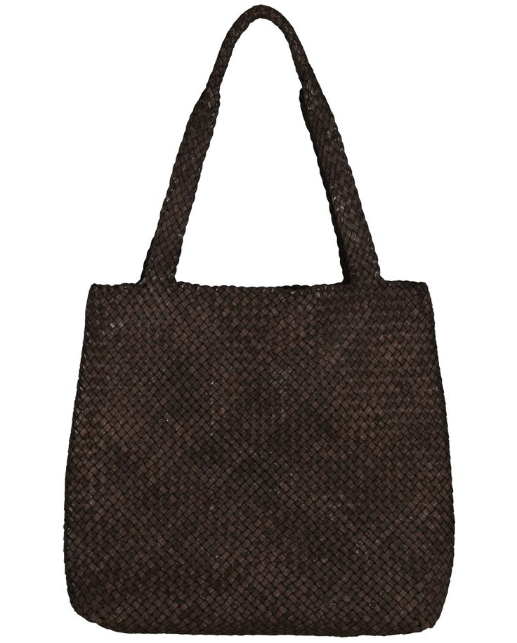 Naledi Copenhagen Braided washed leather shopper