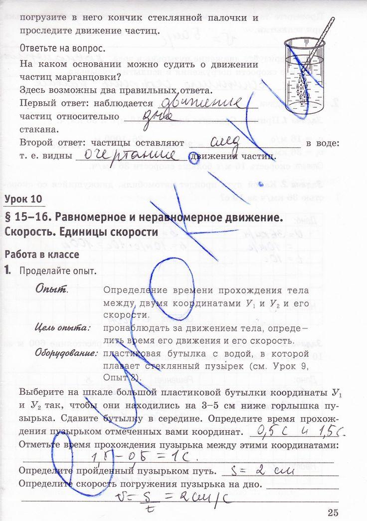 Физика контрольные работы 8 класс астахова ответы