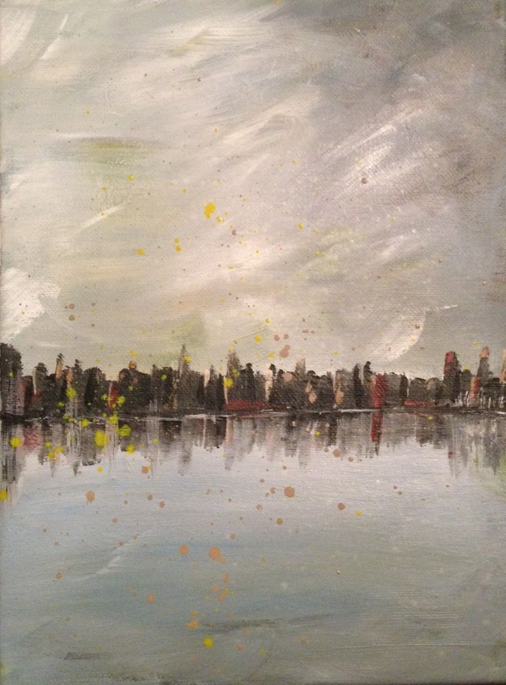 Abstract cityscape.Debi Fontaine Sellinger
