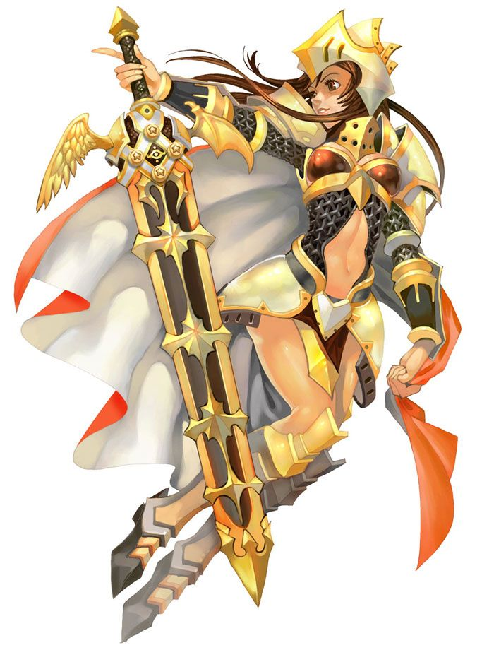 Knight Female from Flyff: Fly For Fun