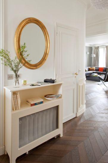 Une belle entrée Haussmannienne  - Conception Paris Sweet Home Deco -