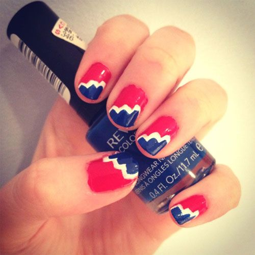 Amazing 4th Of July Nail Art Designs & Ideas 2013