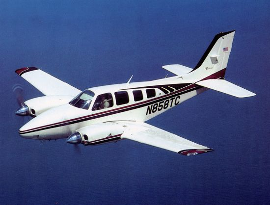 Beechcraft Baron 58TC - Beechcraft Baron - Wikipedia, the free encyclopedia