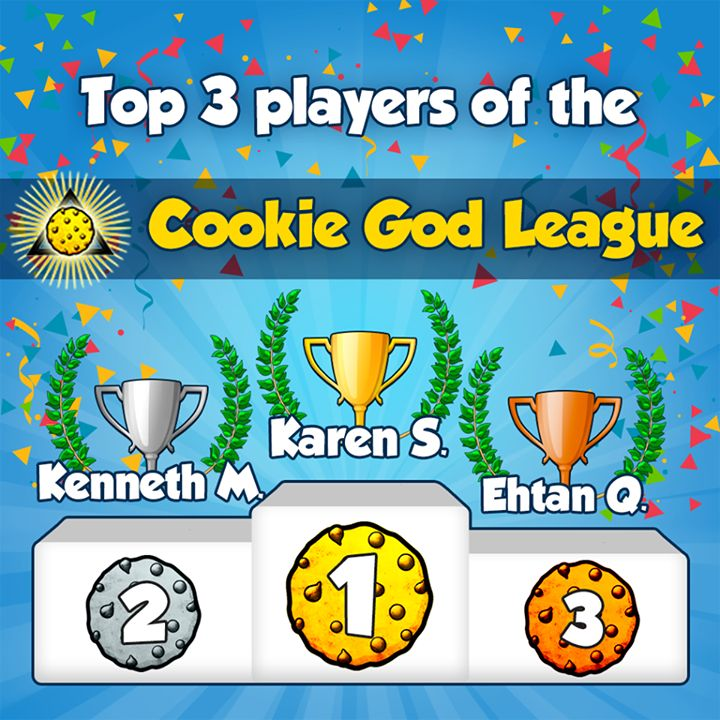 And after the Grandma League (one of the beginner leagues), here is the highlight of the latest and most challenging league in #CookieClickers: the Cookie God League, where the best players in the world are playing! Here are the top 3 of latest week's league! #fashion #style #stylish #love #me #cute #photooftheday #nails #hair #beauty #beautiful #design #model #dress #shoes #heels #styles #outfit #purse #jewelry #shopping #glam #cheerfriends #bestfriends #cheer #friends #indianapolis…