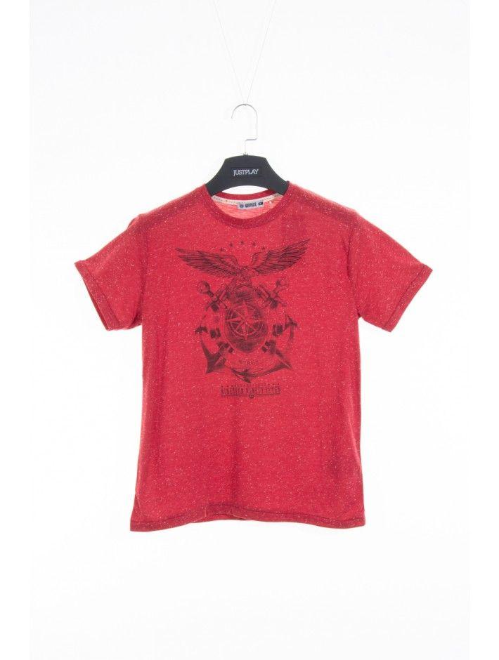 Pánske tričko Ninety - Pánske tričká s krátkym rukávom - Pánske tričká - Pánske oblečenie - JUSTPLAY
