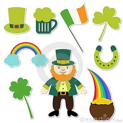 St. Patricks Day collection by Lattesmile, via Dreamstime