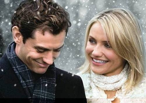The Holiday ~ 2006 ~ Cameron Diaz, Kate Winslet, Jude Law & Jack Black. One of my favorites!