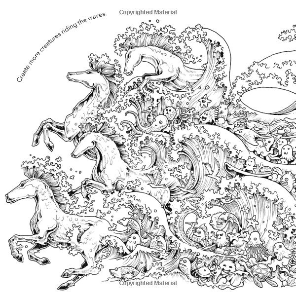 Animorphia An Extreme Colouring And Search Challenge Kerby Rosanes