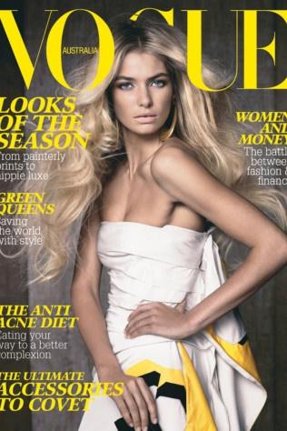 Australia March 2008 - model: Jessica Hart