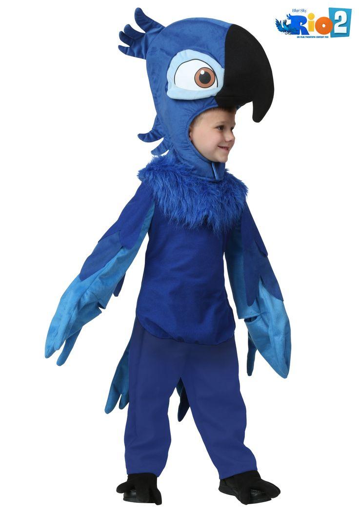 Toddler Rio Blu Costume