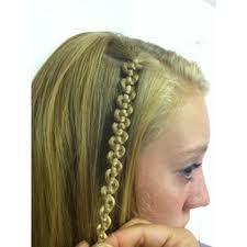 Snake braid.