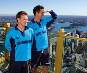 Reidy and Deano, Bondi Rescue Lifeguards