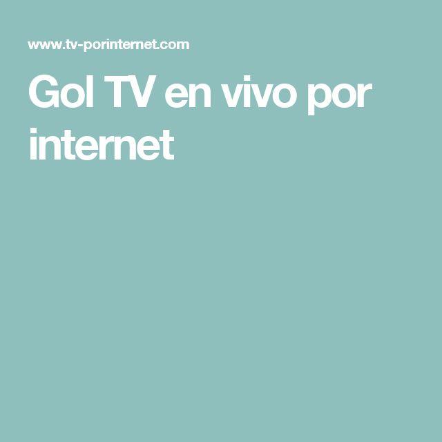 Gol TV en vivo por internet