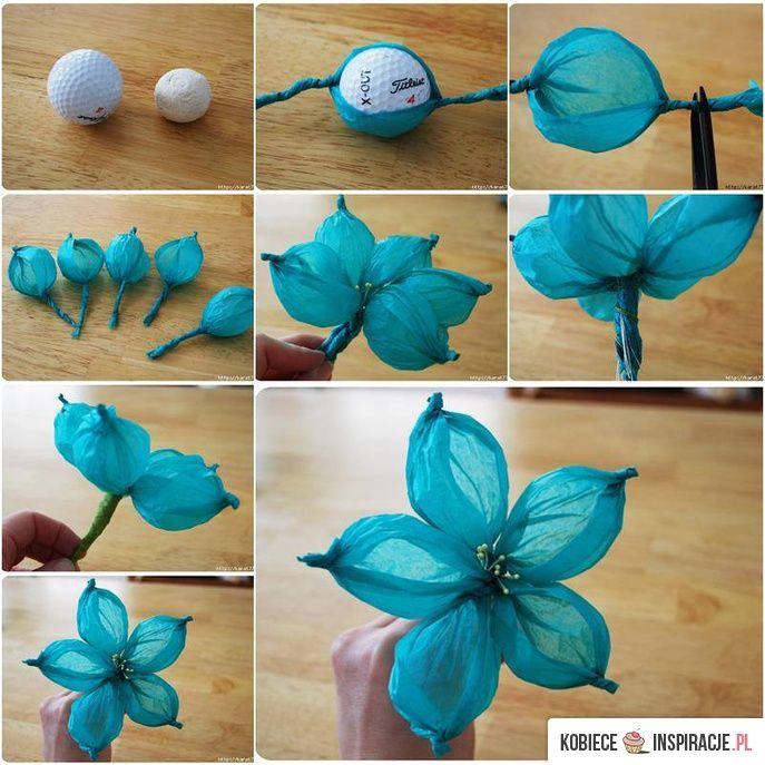 Kwiaty z papieru - dekoracje - Kobieceinspiracje.pl