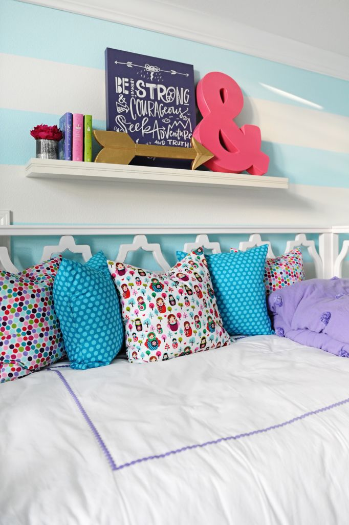 interior design tween girl bedroom design purple and turquoise bedroom funbedroom ideasgirl - Bedroom Fun Ideas