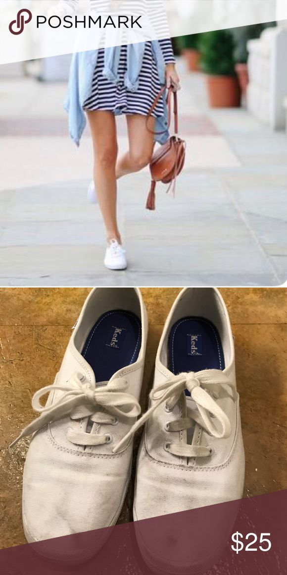 White keds sneakers Lightly worn Keds Shoes Sneakers