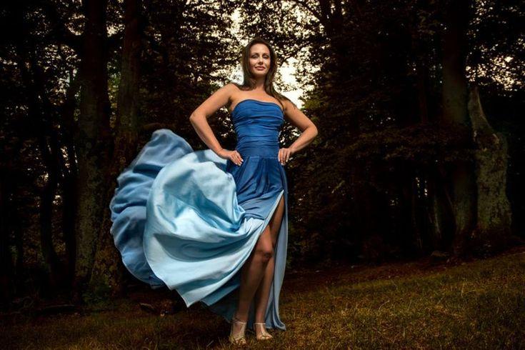 Evening dress by Binar Hana