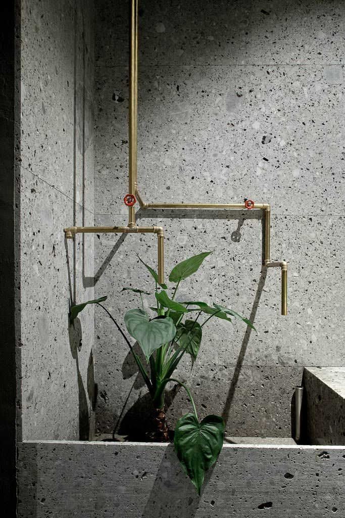 Beautiful simplicity- bathroom details- How Terrazzo Tiles have made their Way Back into our Homes